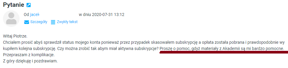 Jacek Akademia